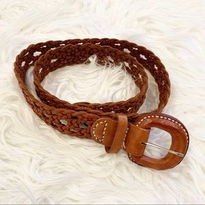Leather Belt Sz M